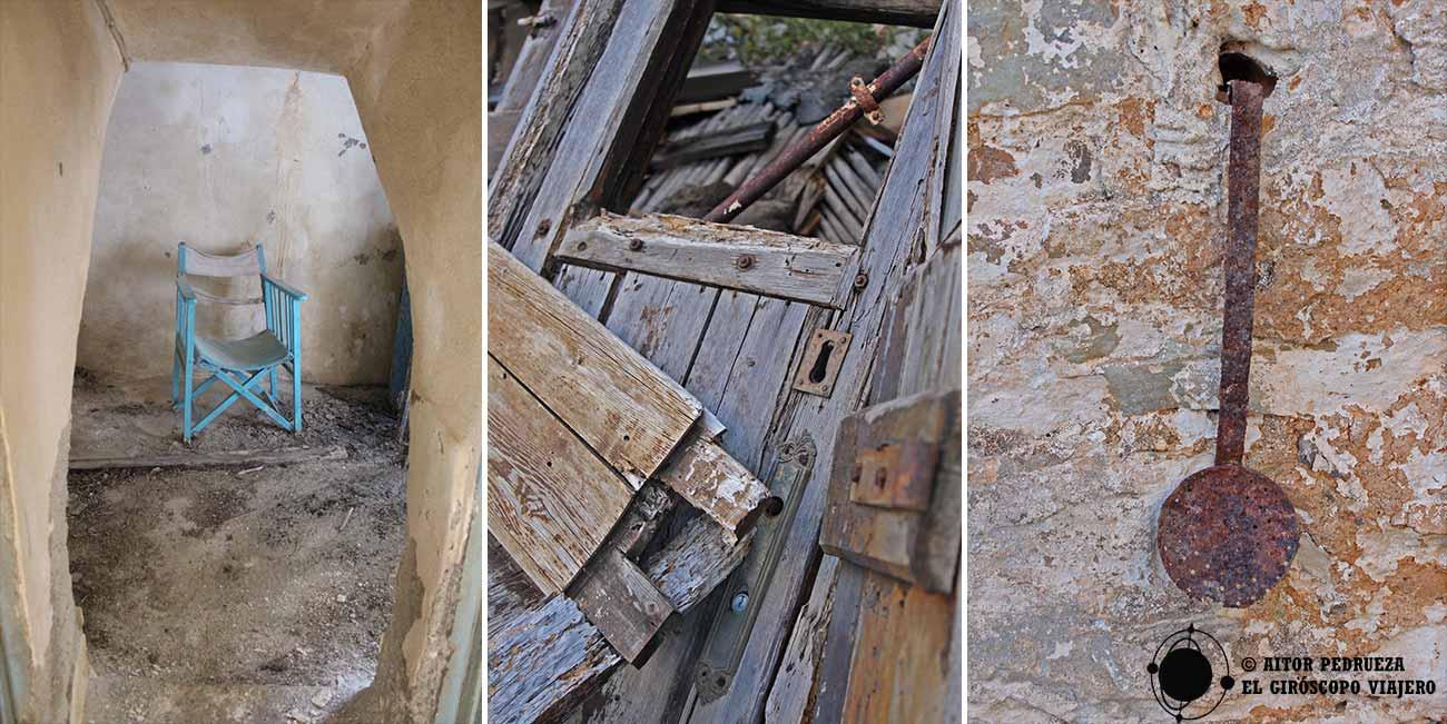 Huellas vivas del pasado habitado del pueblo de Vathia