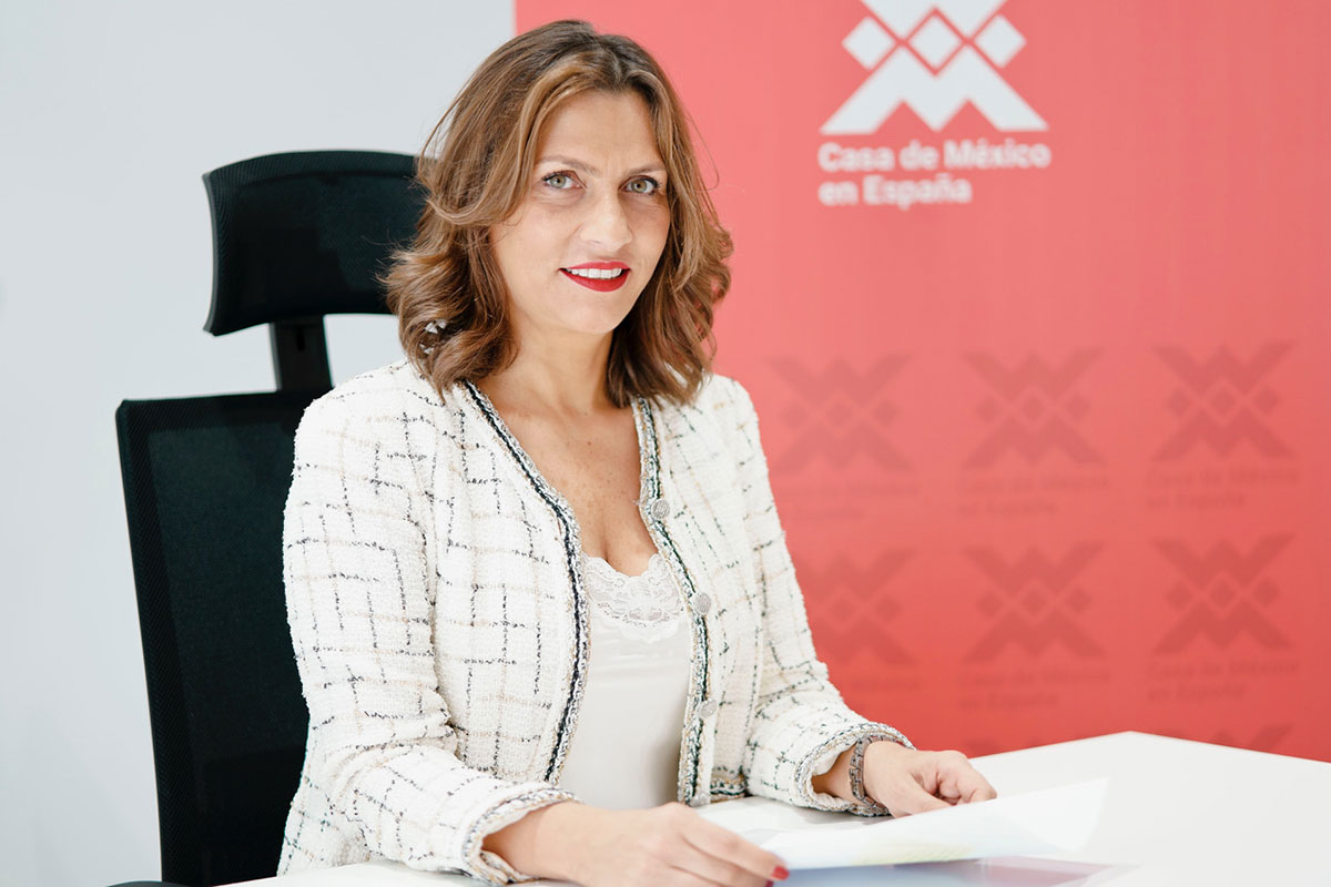 Ximena Caraza Campos, Directora General de Casa México Madrid.