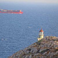 Siguiendo a Hades a la entrada del inframundo en el Cabo Tenaro