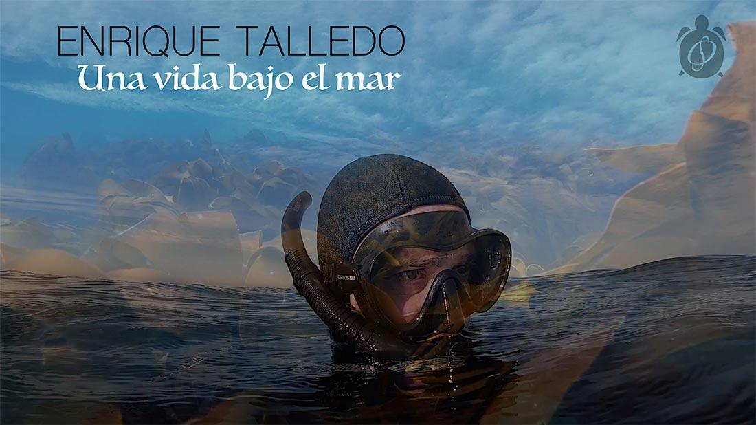 Kike Talledo, una vida bajo el mar