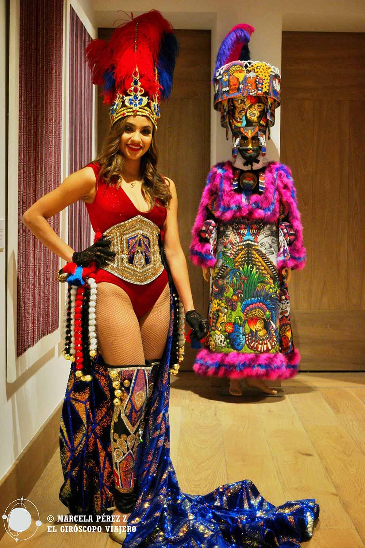 Traje del carnaval de Mazatlán (Guerrero)