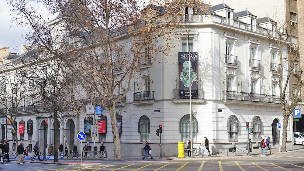Exterior de casa México Madrid