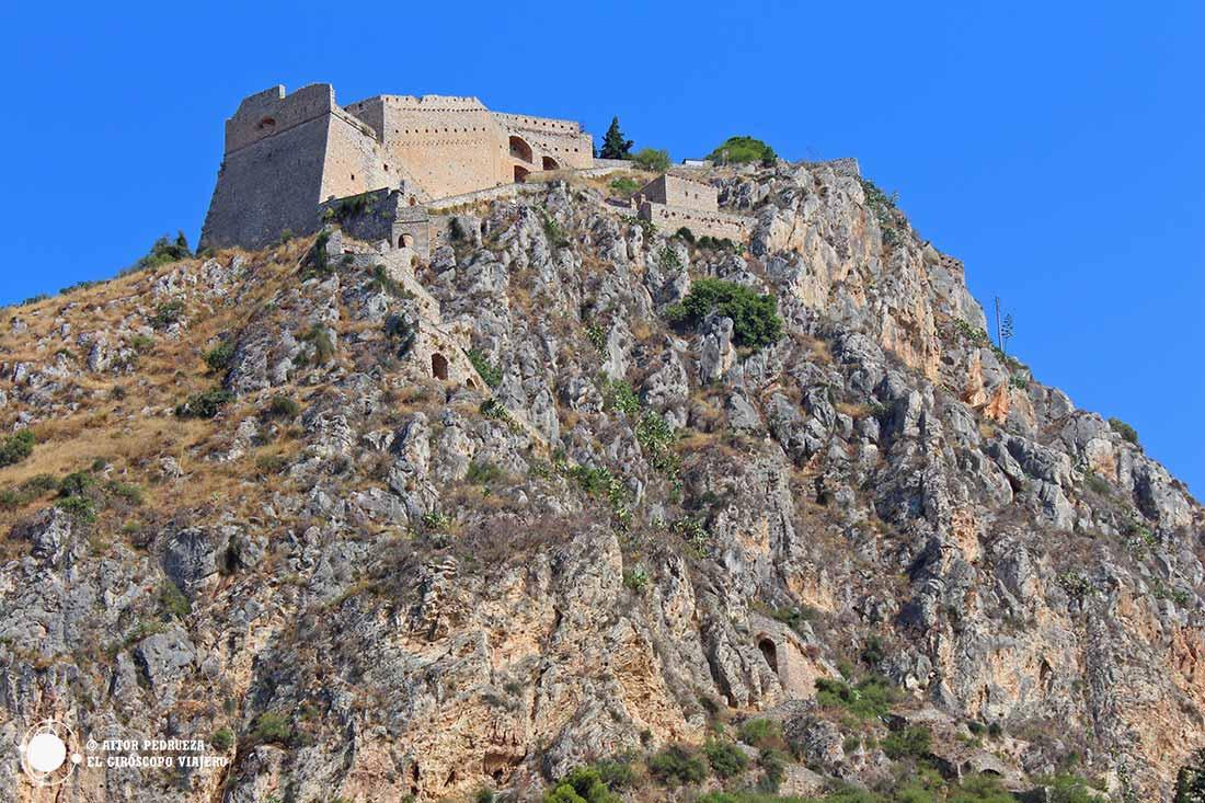 Fortaleza de Palamides en lo alto de Nauplio