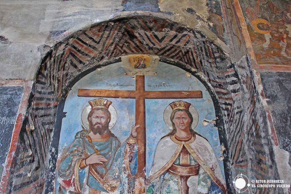 Frescos bizantinos de Mystras
