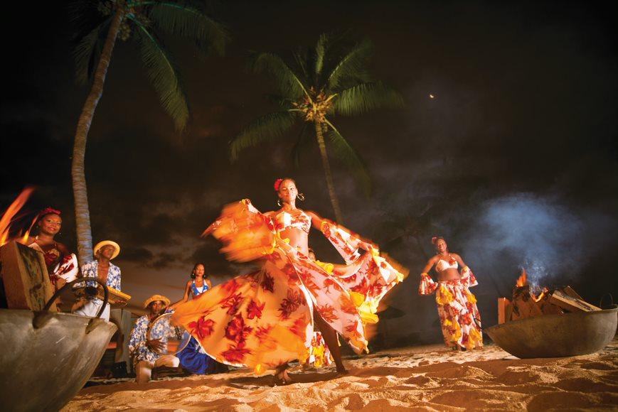 Danza de la Sega, típica en Mauricio.