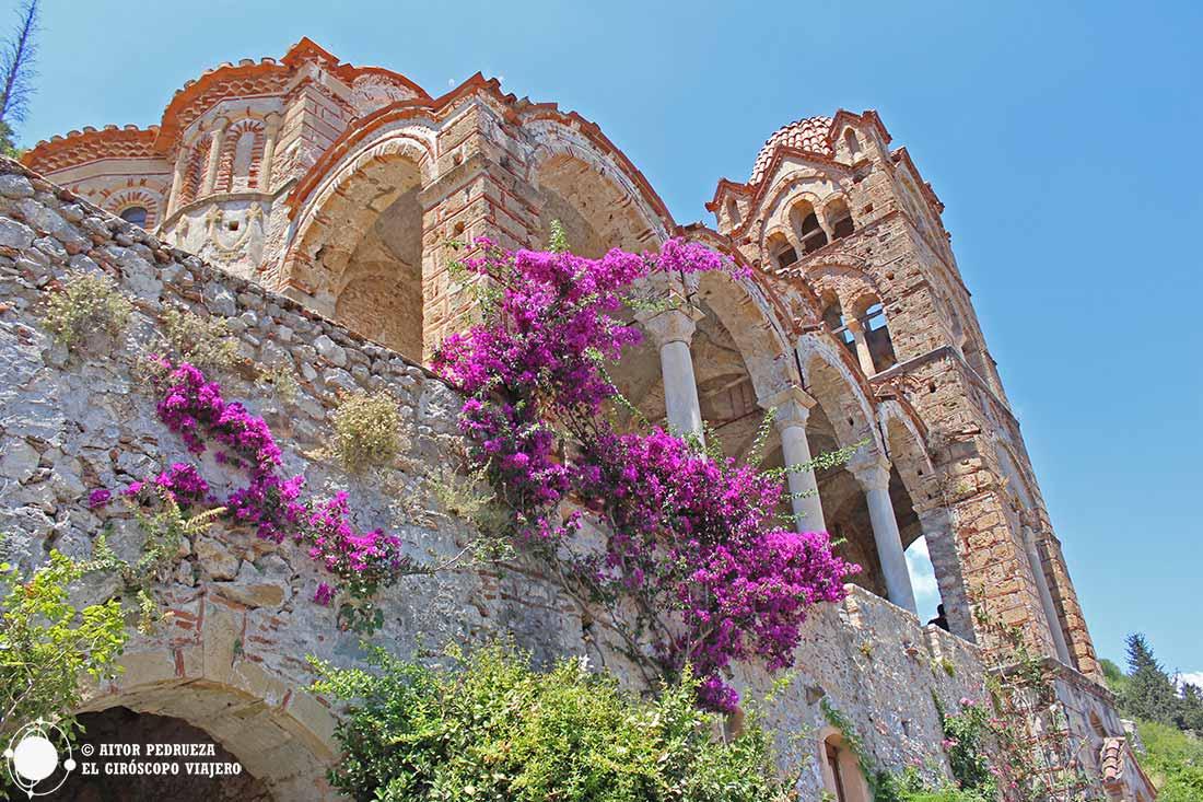 Monasterio de Pantanassa en Mystras