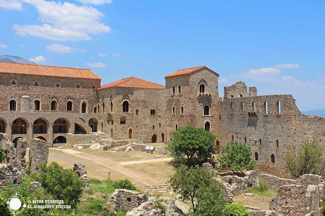 Palacio de los Déspotas de Mystras