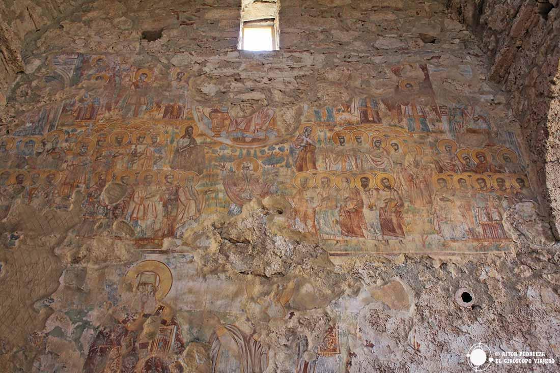 Frescos de San Nicolás en Mystras