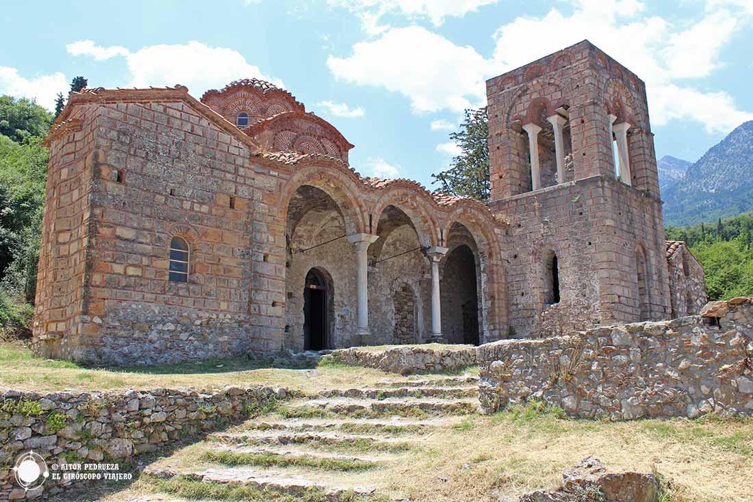 Iglesia di Santa Sofía en Mystras