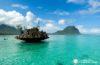 Excursión en barco a Isla de Bénitiers. Esnorquel en el arrecife de coral de Isla Mauricio