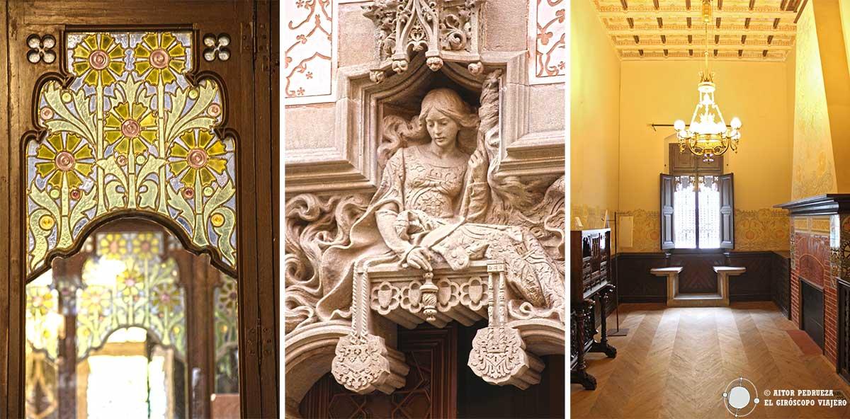 La Casa Coll i Regàs obra de Puig i Cadaflach