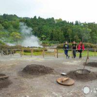 La tierra ruge en el valle de Furnas. Un volcán dormido en São Miguel de Azores