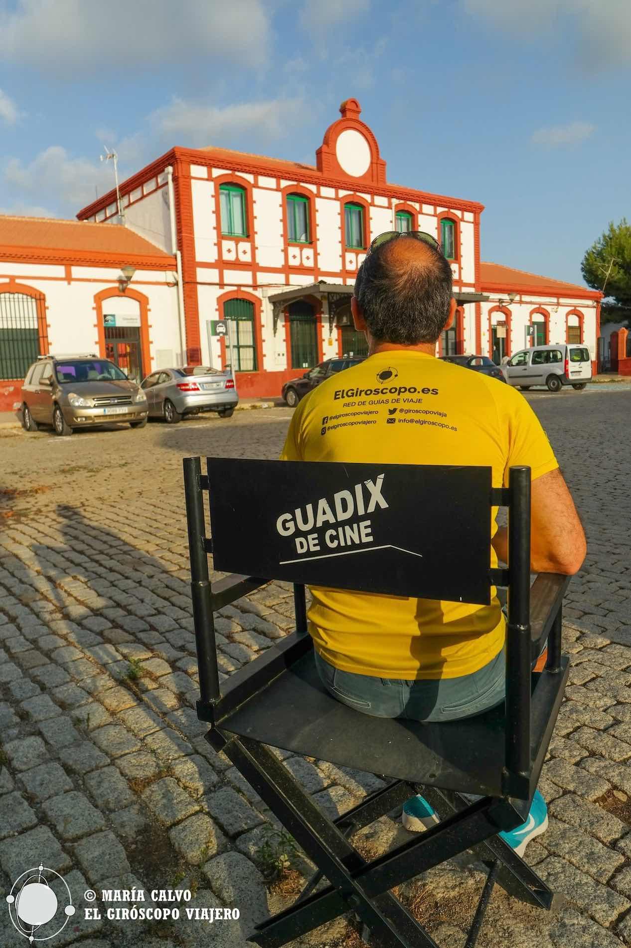 Estación de tren de Guadix, donde se rodó Indiana Jones y la Ultima Cruzada. ©María Calvo