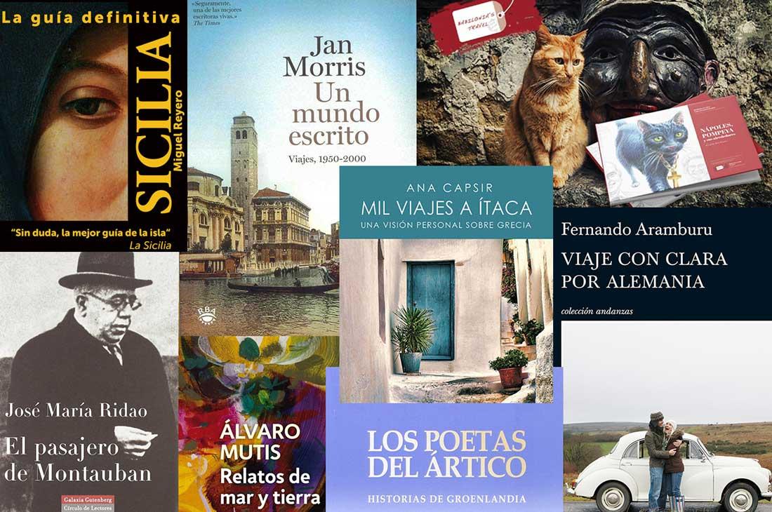 Libros de Viajes para leer en el encierro de casa