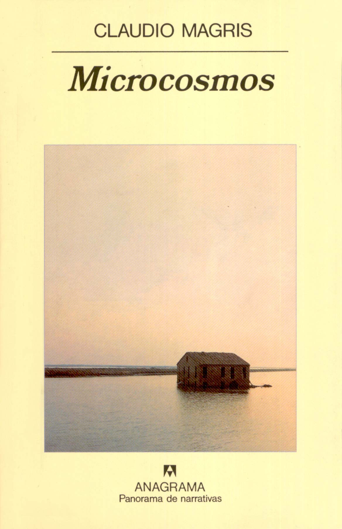 Libro Microcosmos de Claudio Magris