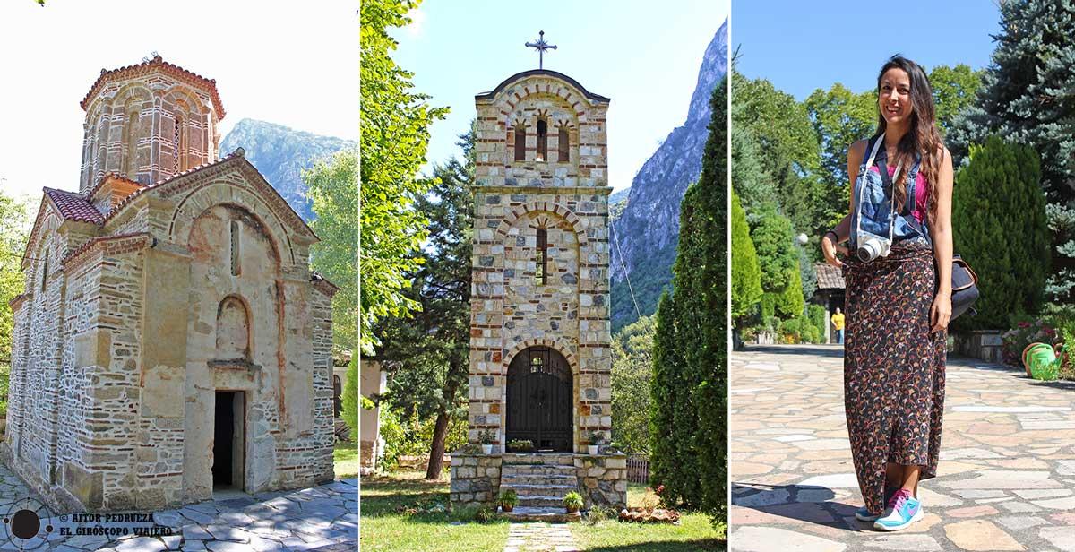 Monasterio de la Santa Madre de Dios cerca del cañón Matka