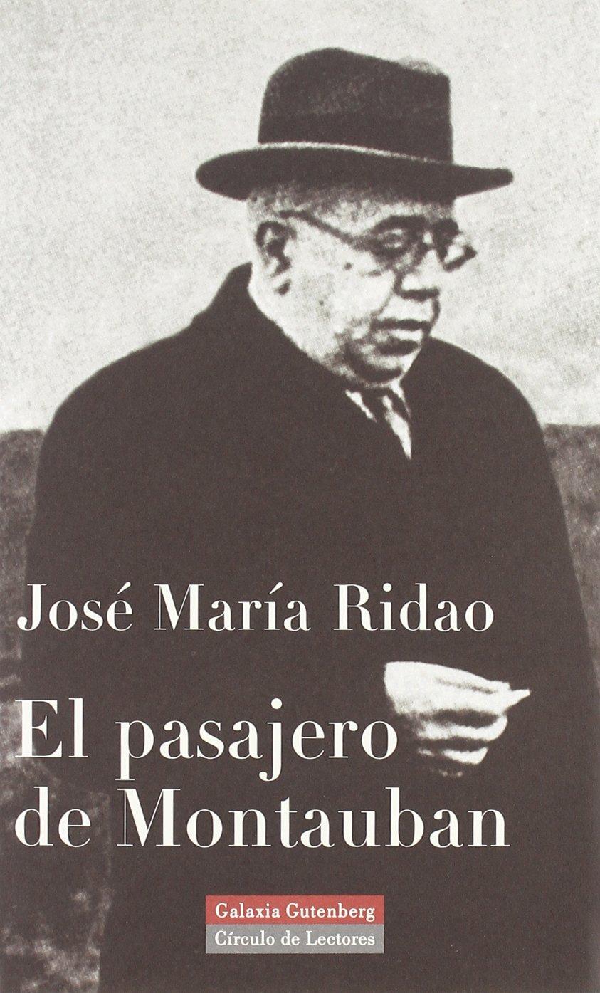 Libro El pasajero de Montauban de José María Ridao