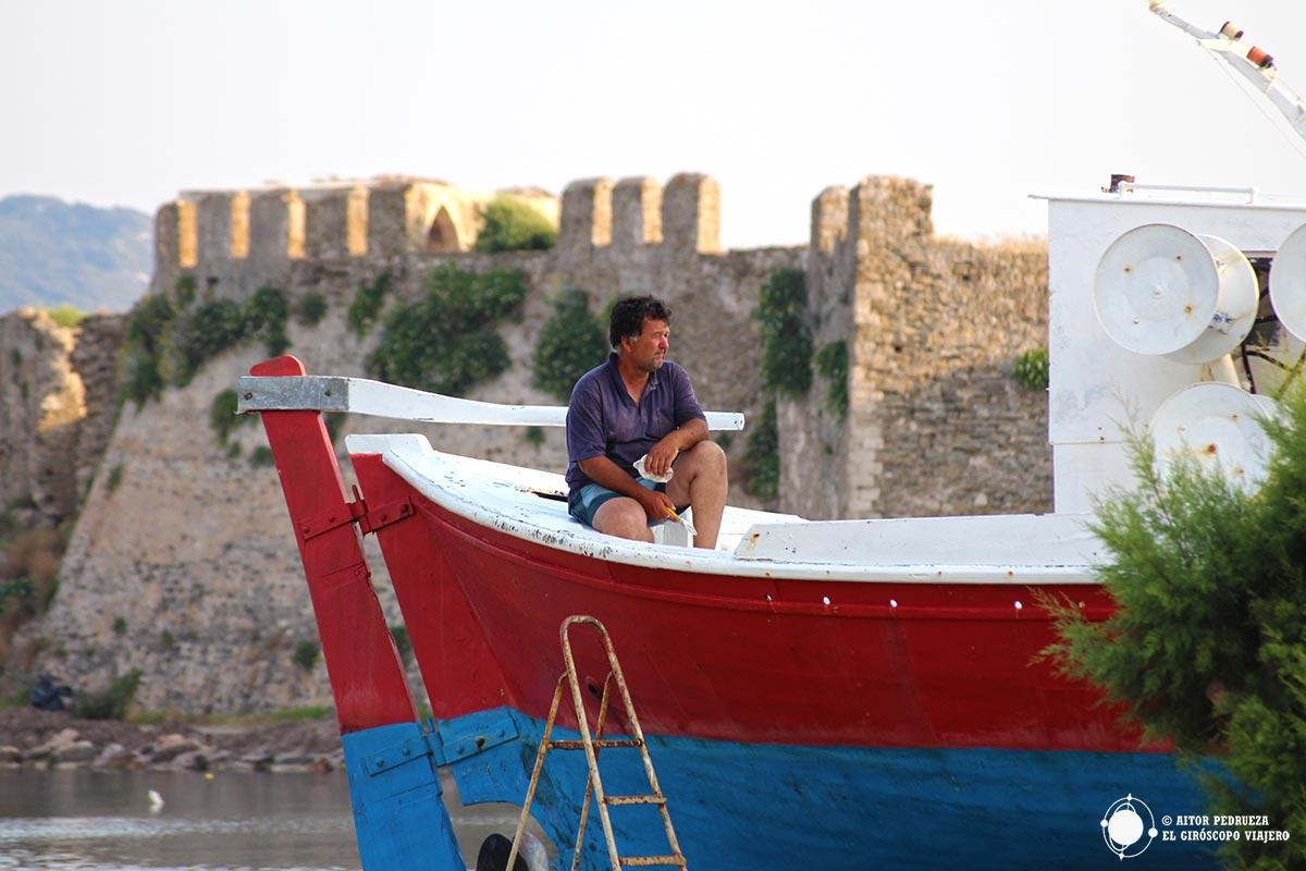 """El """"pintor de barcos"""" de Methoni"""