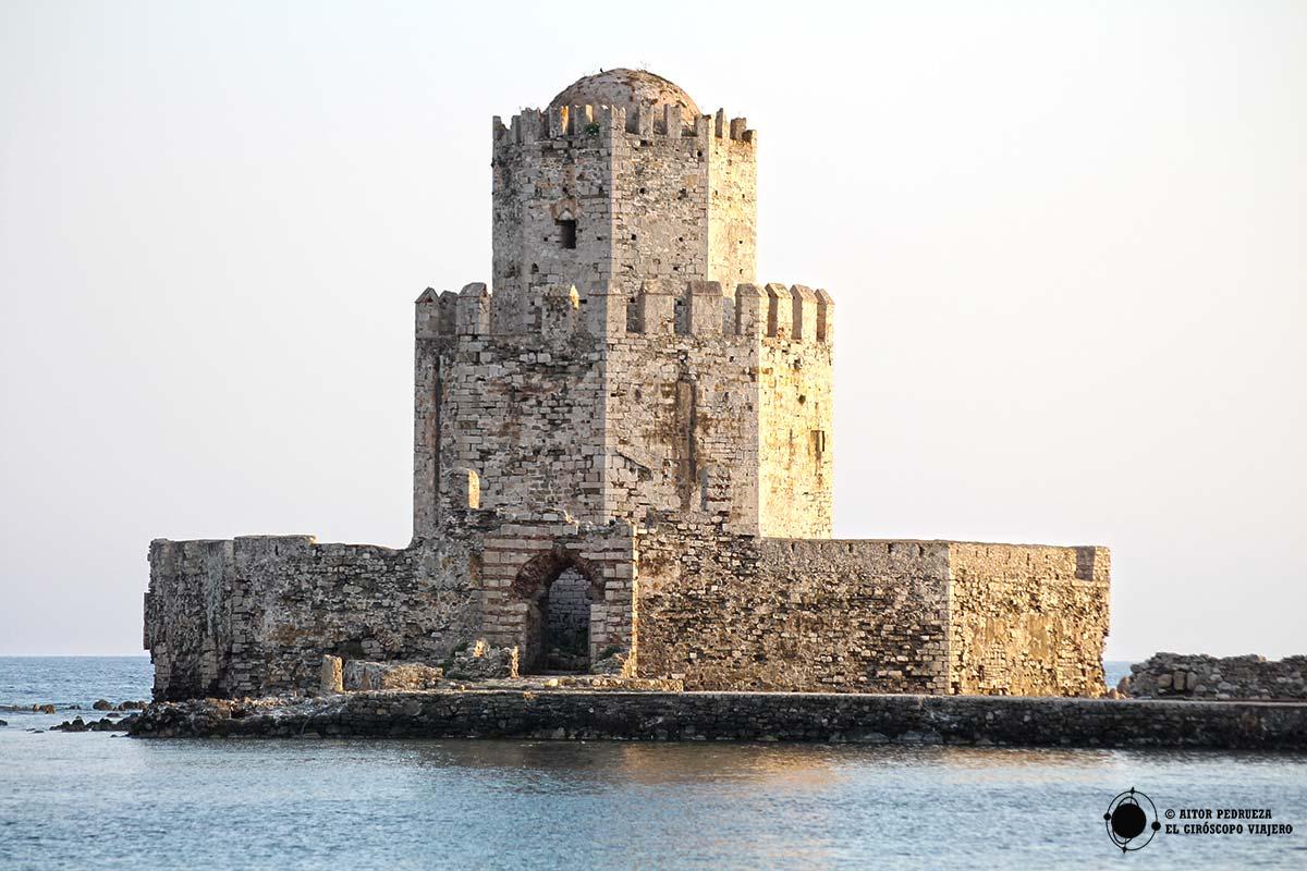 Bourtzi, torre turca en el castillo de Methoni