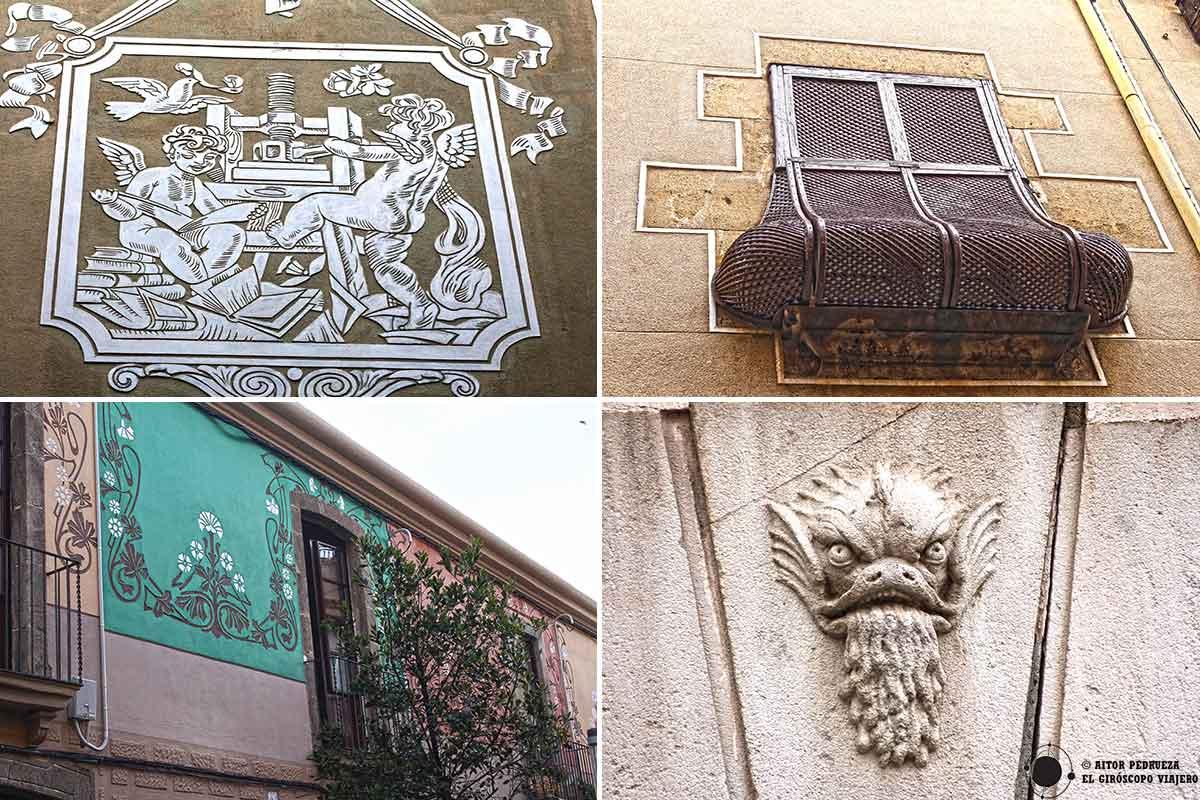 Detalles del centro histórico de Mataró