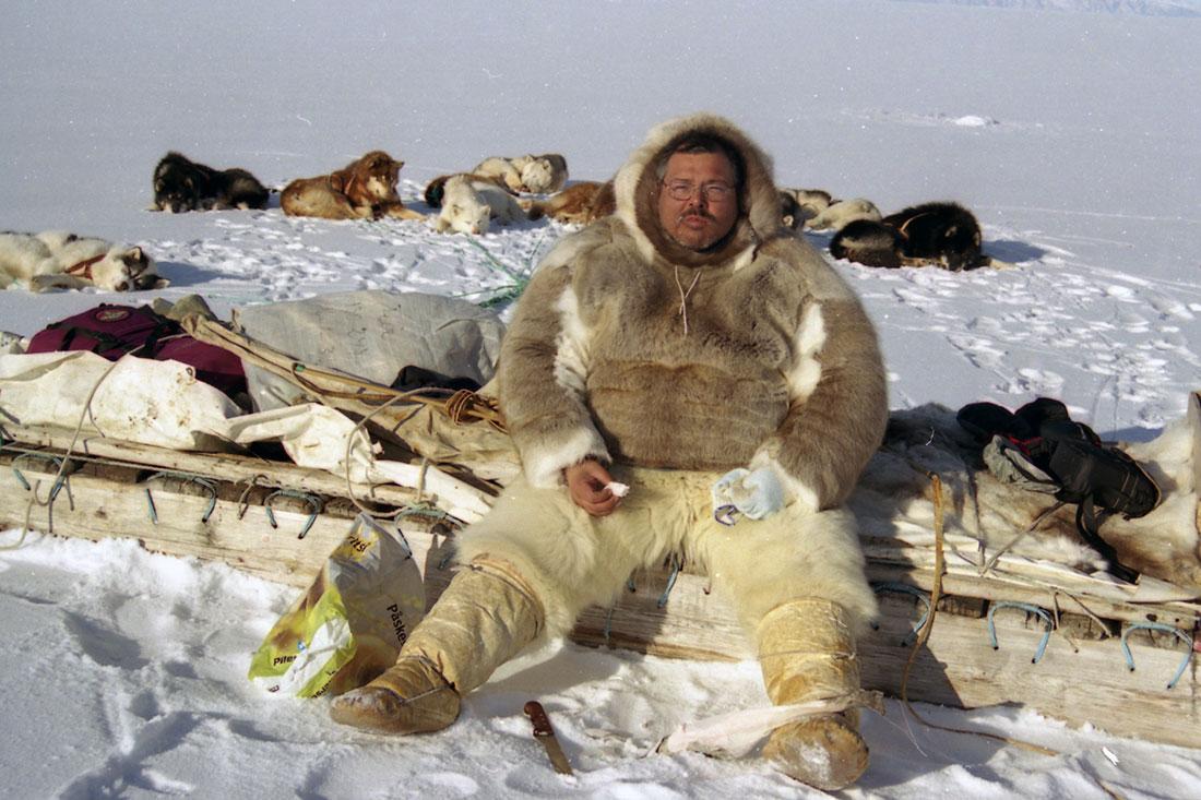 Cazador Inguhuit del norte de Groenlandia (2004)
