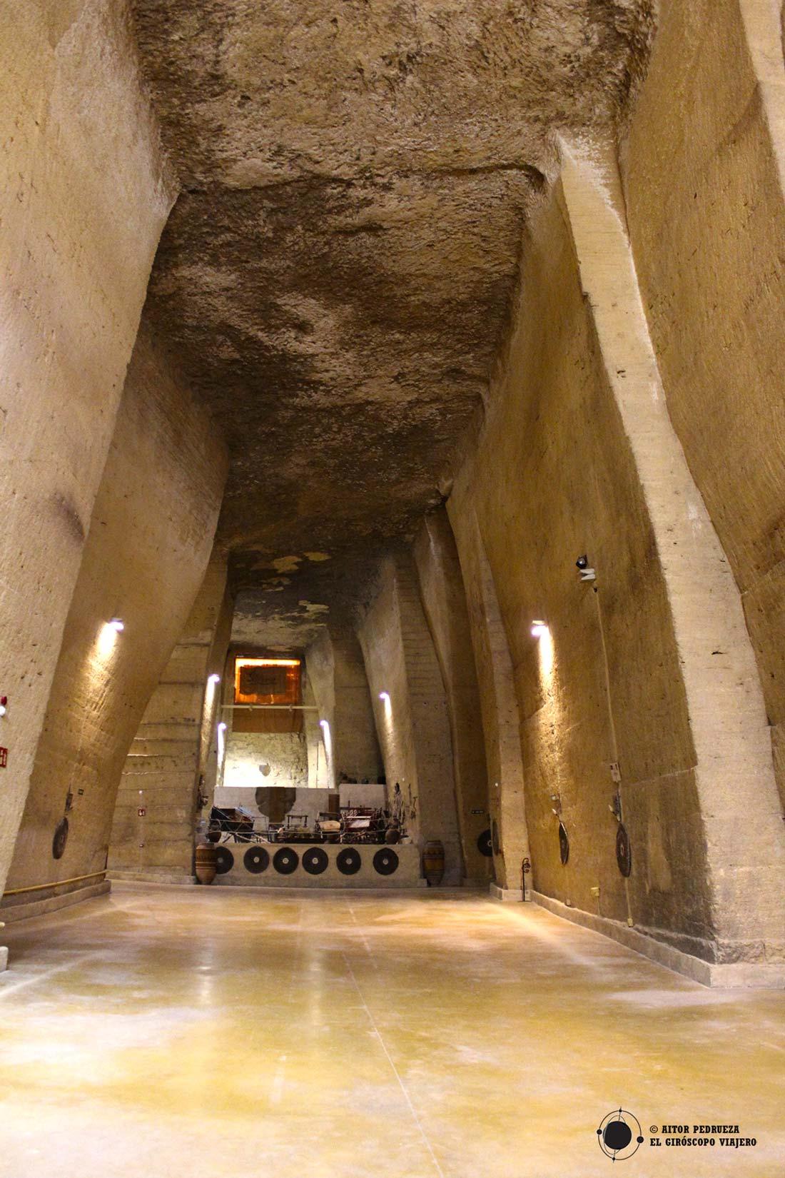 Interior del Coto de las Canteras de Osuna