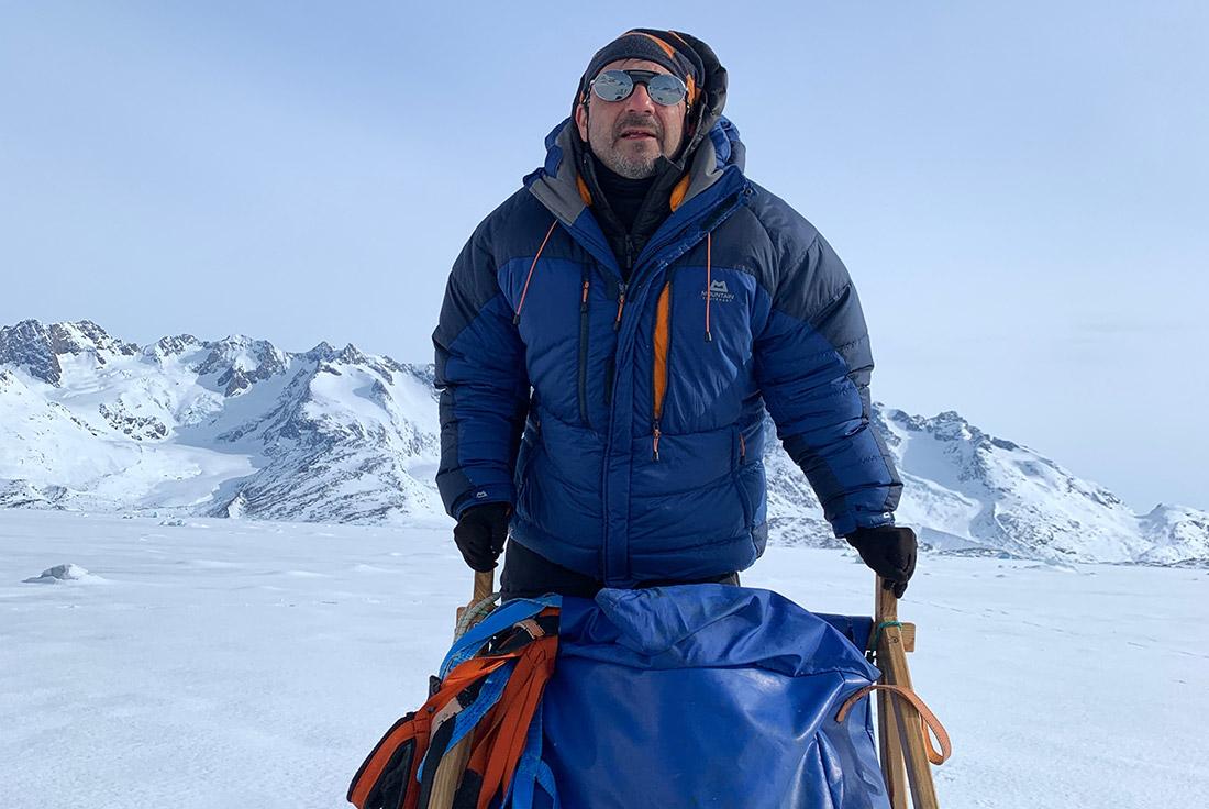 Francesc Bailón, experto en el pueblo inuit