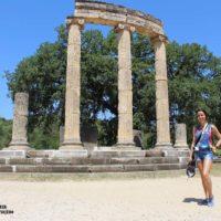 Visita al yacimiento de Olimpia, cuna de las olimpiadas en Grecia