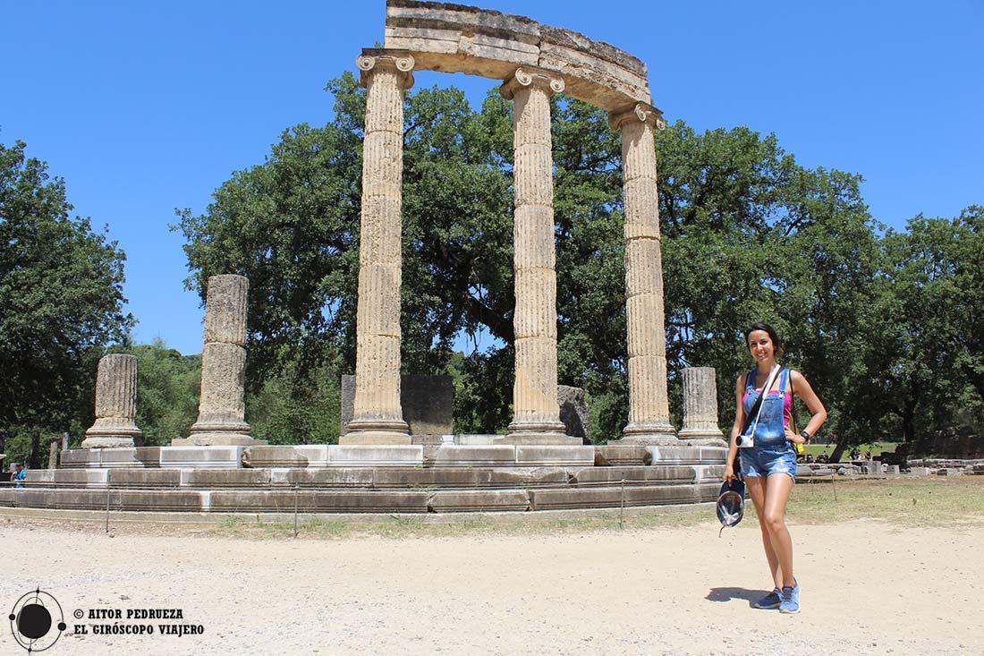 Visita al yacimiento de Olimpia
