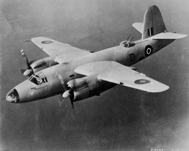 B 26 Marauder de la RAF