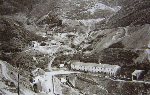 Mina de wolframio en Casaio (Carballeda de Valdeorras), controlada por los nazis.