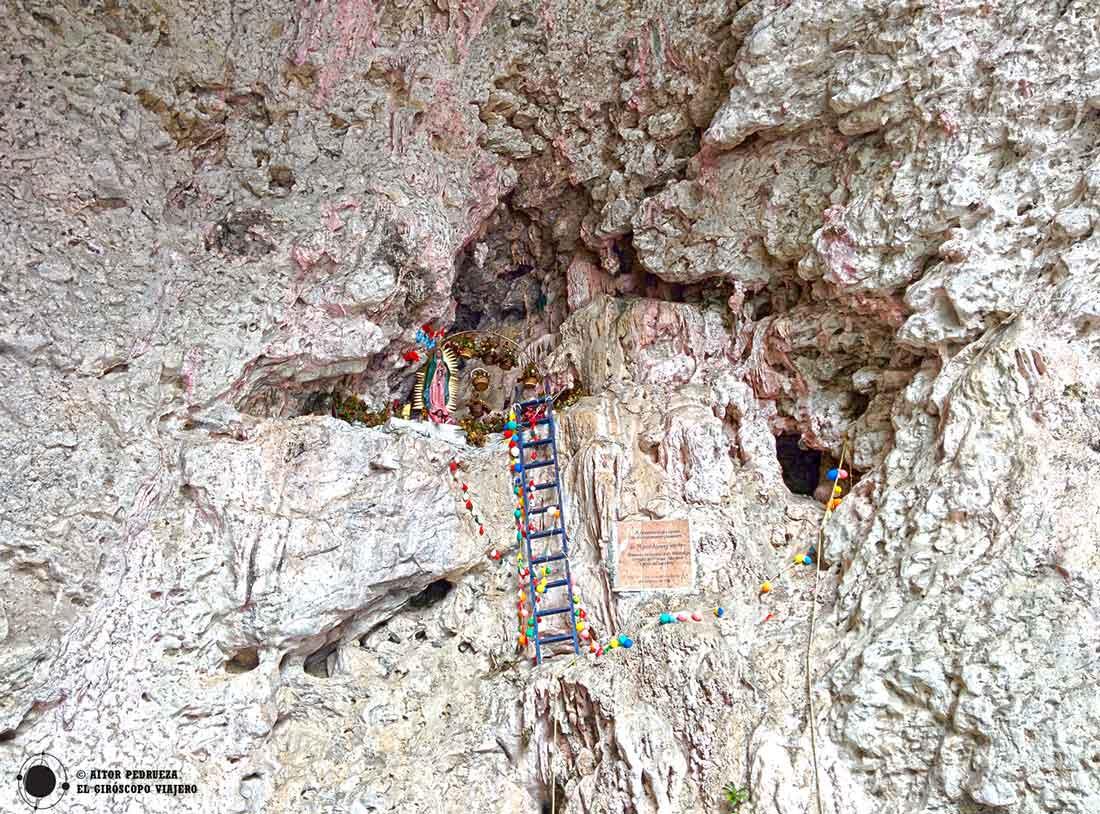 Santuario de la Cueva de los Colores en el Cañón del Sumidero