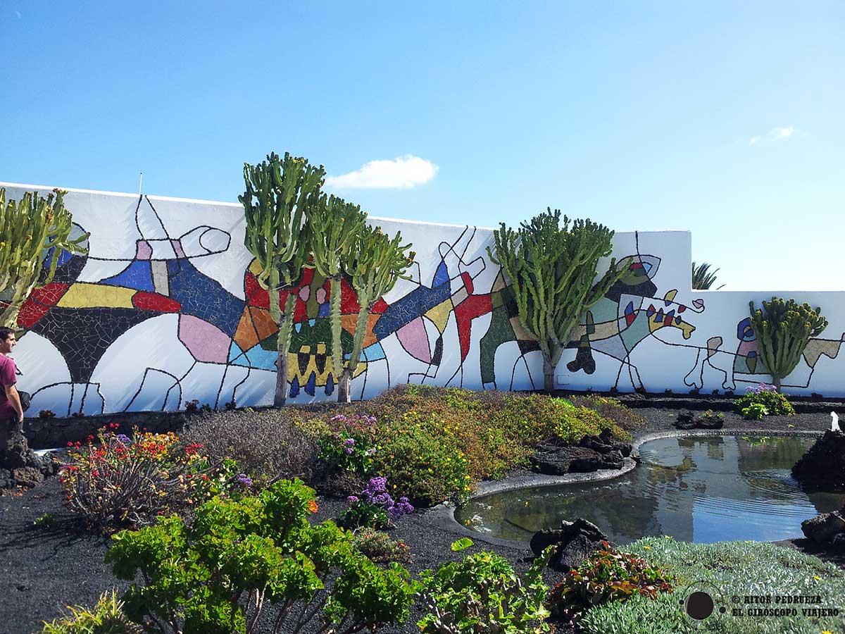 Jardines de la Fundación Cesar Manrique