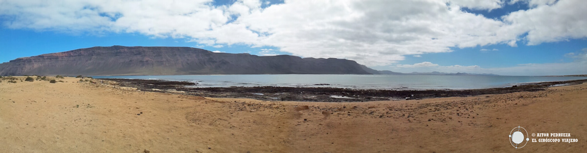 Playa de la Francesa en Graciosa