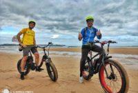 Ruta en bicicleta eléctrica de Somo a Langre: Cantabria