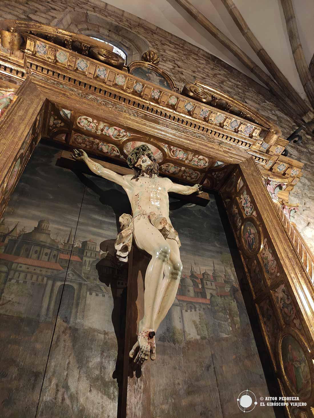 Imagen del Cristo de Limpias