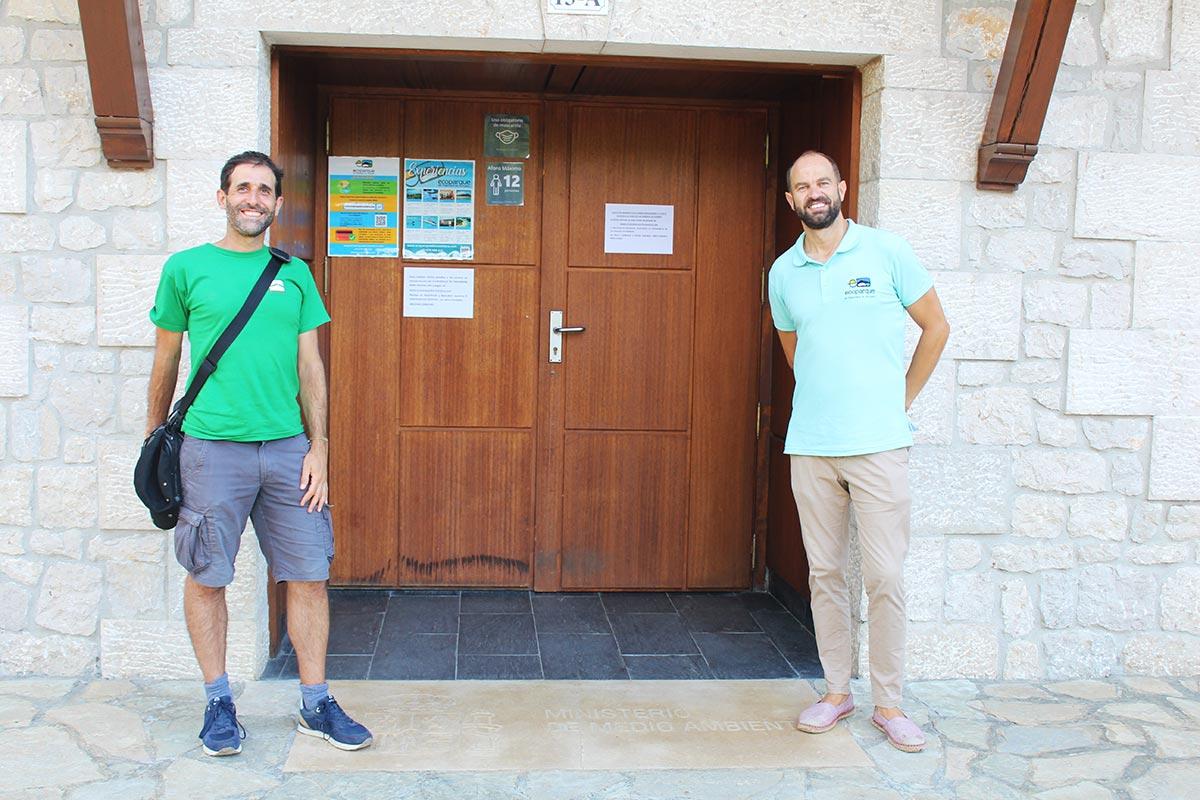 Visita a la Casa de las Mareas y el Molino d eOlaja con Marco del equipo del Ecoparque de Trasmiera.