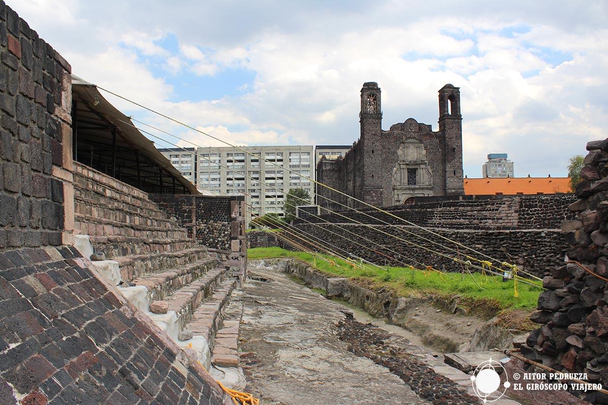 Límite del recinto sagrado de Tlatelolco