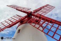 El Molino de Pico Vermelho de la isla de São Miguel de Azores