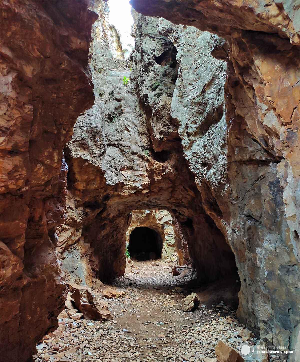 Túneles en el Cerro del Hierro