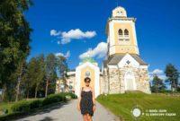 La Iglesia de Kerimäki, en Finlandia se encuentra el paraíso, según Arto Paasilinna.