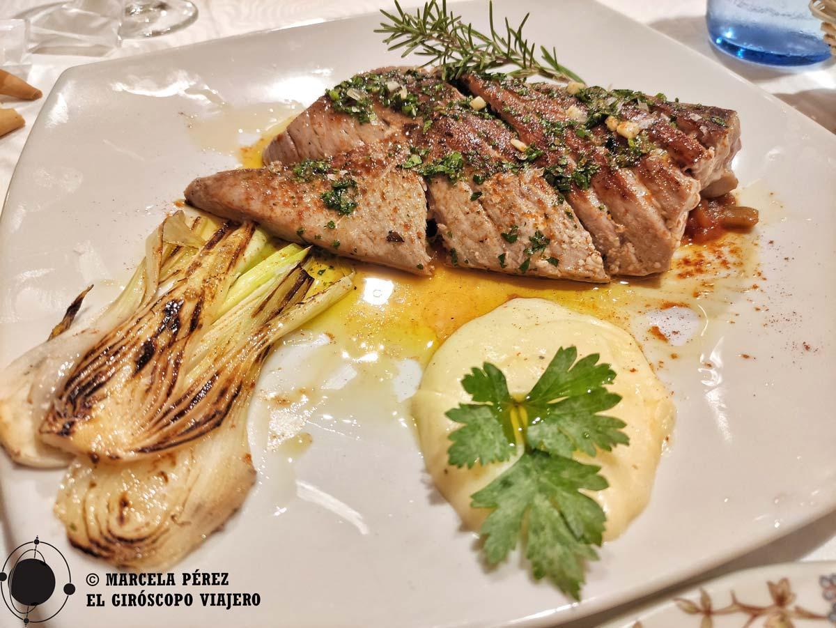 La gastronomía de la sierra de Sevilla siempre cuenta con productos de excelente calidad.