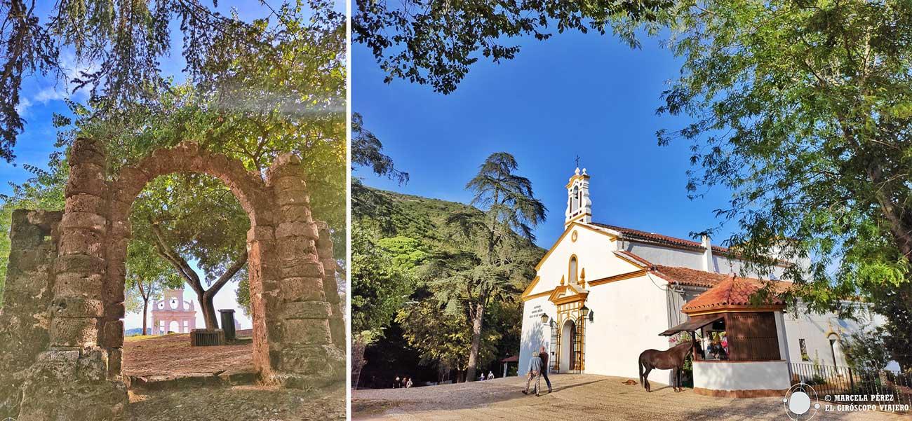 Peña de Arias Montano en Alájar