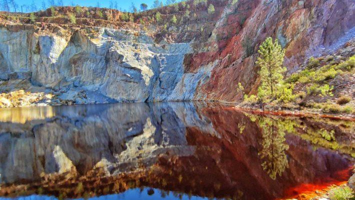 Visita a la cuenca minera de Riotinto