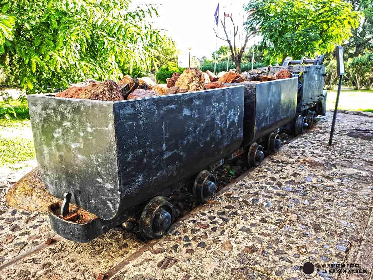 Vagonetas de la cuenca minera de Riotinto