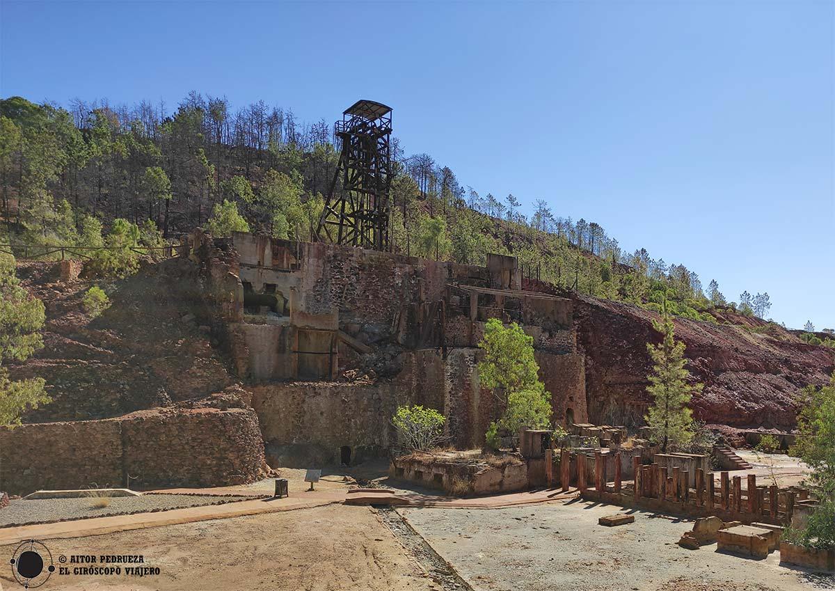 Peña de Hierro en Nerva, Cuenca minera de Riotinto