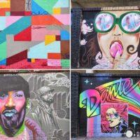 Ruta de los Grafitis del barrio de Poblenou en Barcelona