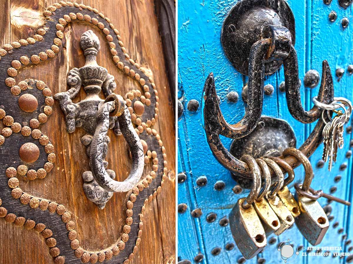 Las preciosas puertas de Túnez
