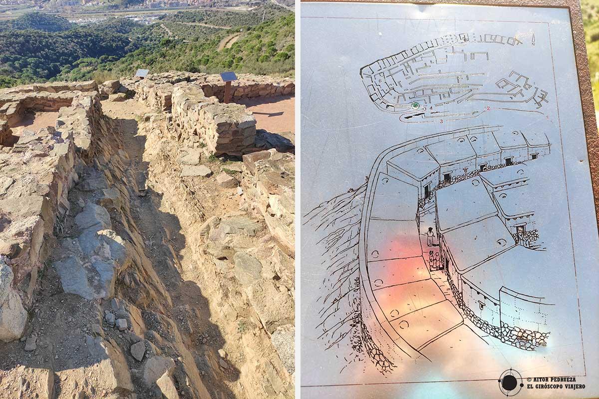 Recorrido por el yacimiento del Puig Casteller