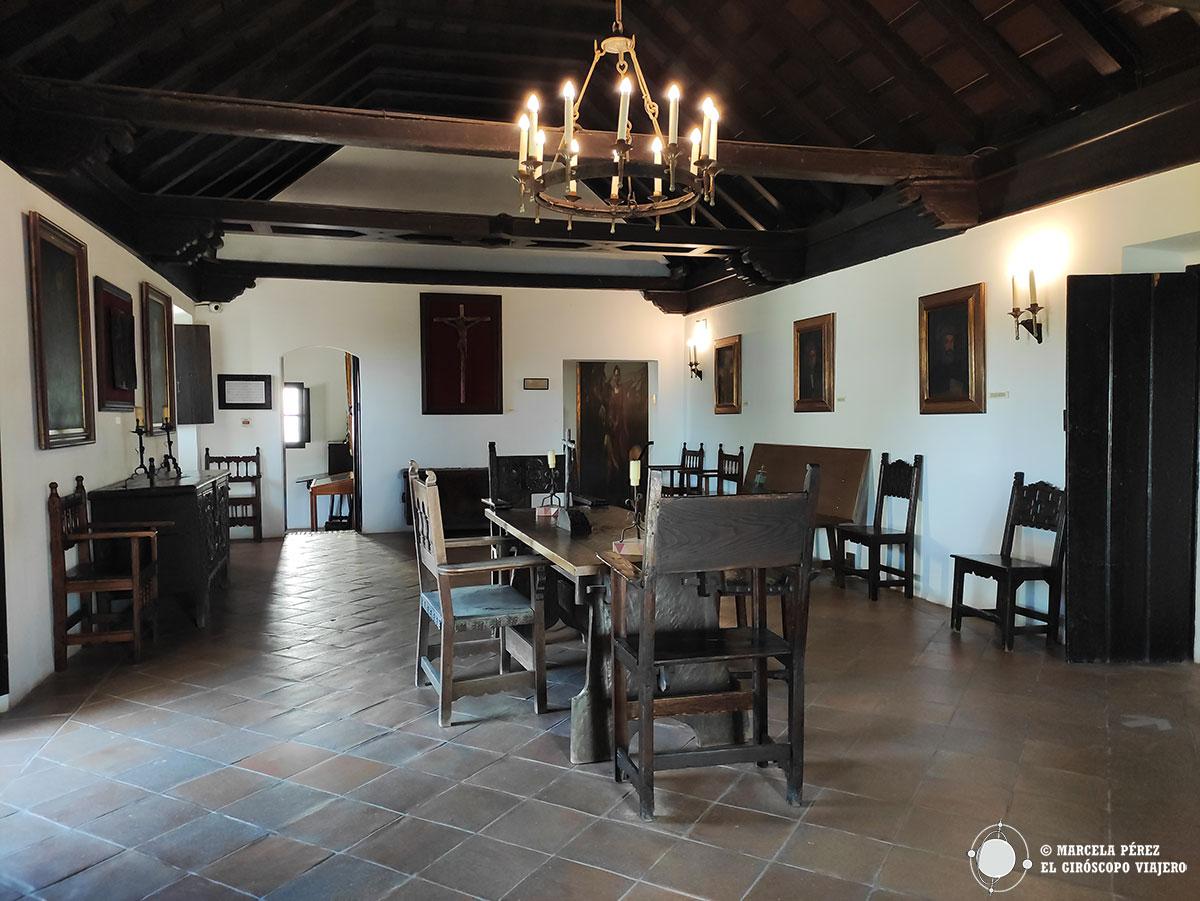 Sala capitular del Monasterio de la Rábida